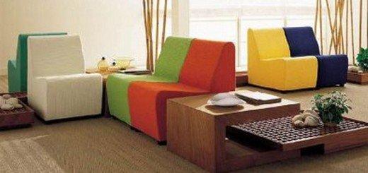 Мобильная мебель в оформлении гостиной
