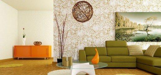 Фэн-шуй цвета,  добавление элементов дерева