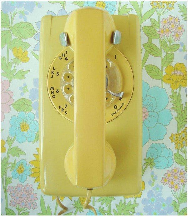 Ретро акценты телефон