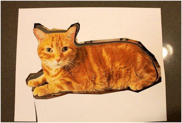 Подушка кот, шаг 1
