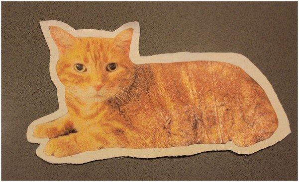 Подушка кот, шаг 4
