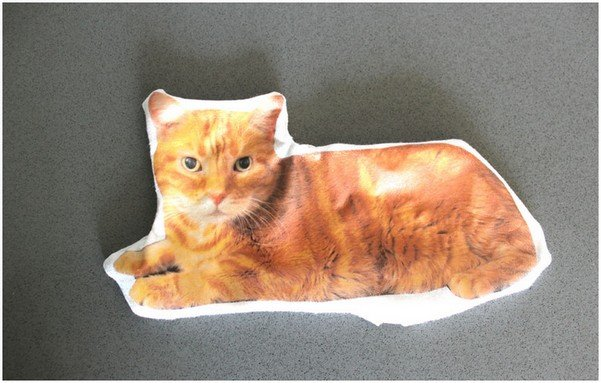 Подушка кот, шаг 7