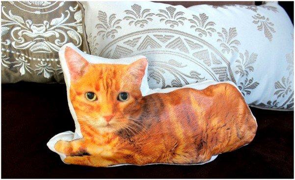 Подушка кот, шаг 9