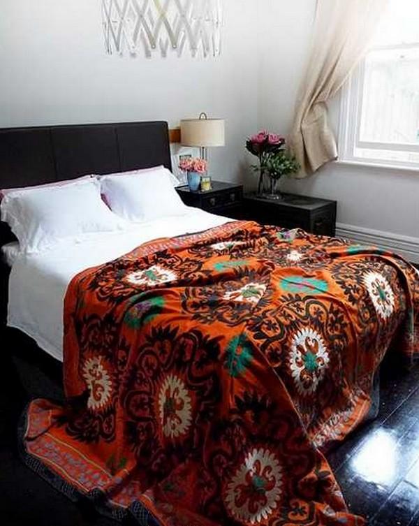 Этнические мотивы в спальне