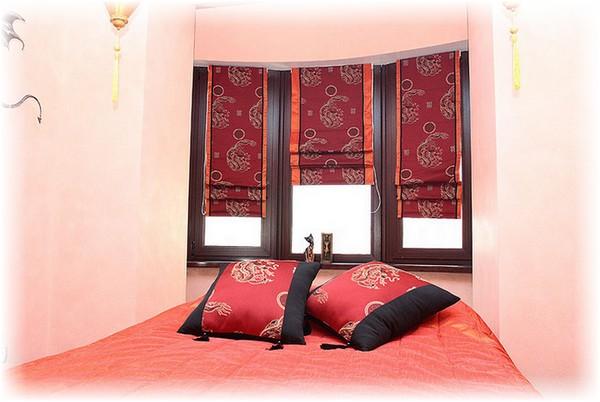 Яркие китайские шторы