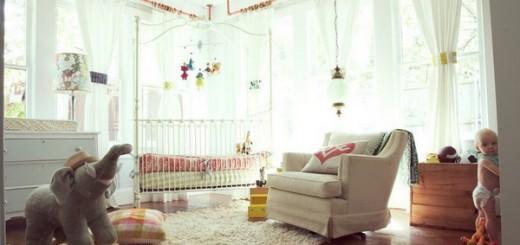стили детской комнаты цирк