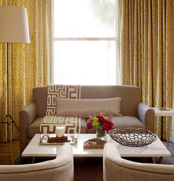 Как использовать серо коричневый цвет в интерьере, небольшая мебель