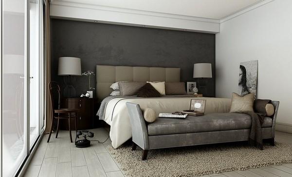 Как использовать серо коричневый цвет в интерьере с викторианским дизайном