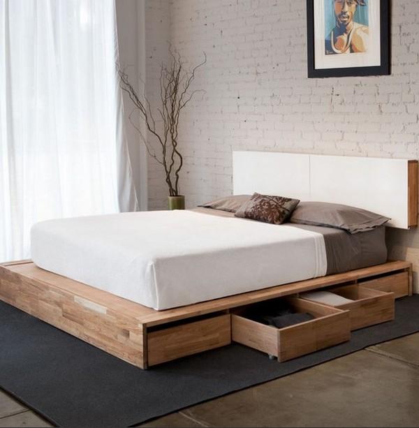 Как избавиться от пыли, кровать с ящиками