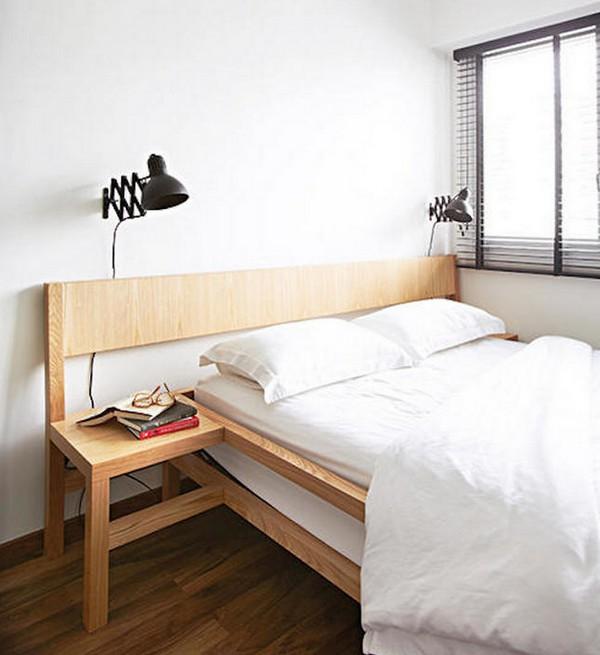 Как избавиться от пыли в спальне, выберите минималистический дизайн