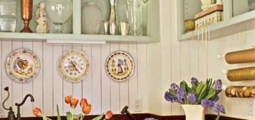 Уютный дизайн деревенской кухни