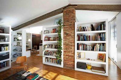 Ранч-стиль в современном интерьере, встроенные шкафы_opt