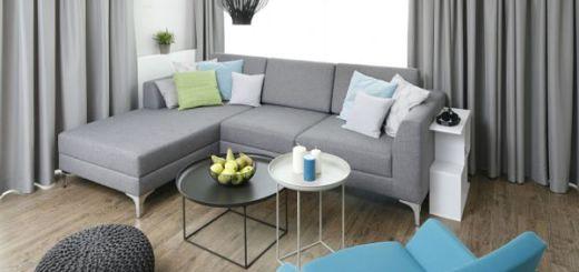Интерьер небольшой квартиры, гостиная_opt