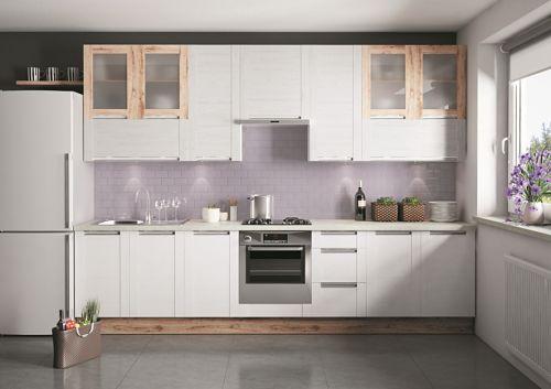 Современный дизайн для маленькой кухни