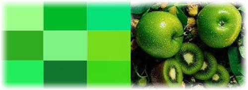 любимый зеленый цвет