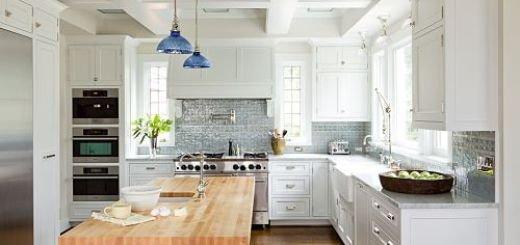 Идеальный дизайн кухни по  меркам дизайнеров максимально использовать стену