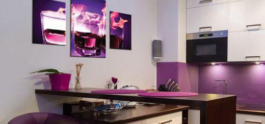 Картины предметы интерьера кухни