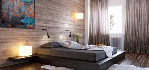 Настроение от природы. Спальня в коричневых тонах
