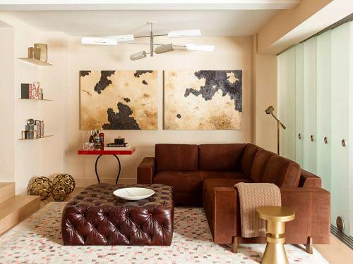 необычный дизайн гостиной классицизм