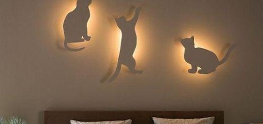 Как сделать светильник своими руками для спальни