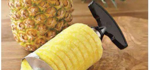 Интересные гаджеты для кухни нарезка ананаса