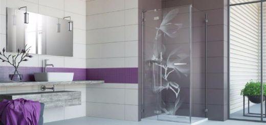 Стильный декор ванной комнаты.