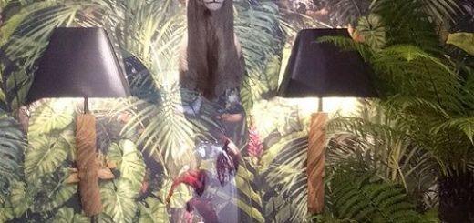 Тренд в дизайне джунгли в интерьере