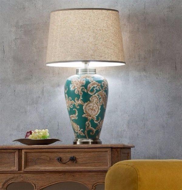 Дизайн в восточном стиле - идеи оформления интерьера лампы
