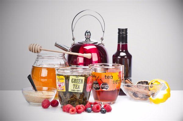Осенние идеи для дома как подавать чай малиновый