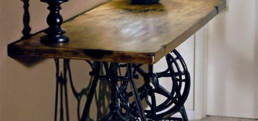 Старая швейная машина  в Вашем интерьере