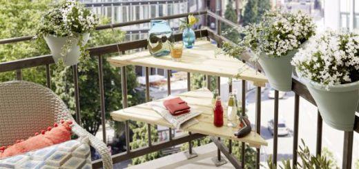Угловой столик на балкон своими руками