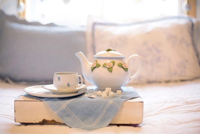 как подавать чай