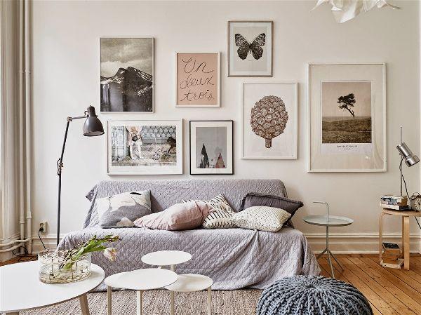 Дизайн интерьера в белом цвете украсьте белые стены