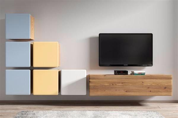 Дизайн стены с телевизором.  Что тут соорудили