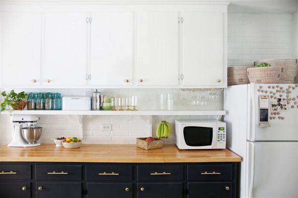 Лучшие идеи- как обновить кухню своими руками заменить ручки на мебели