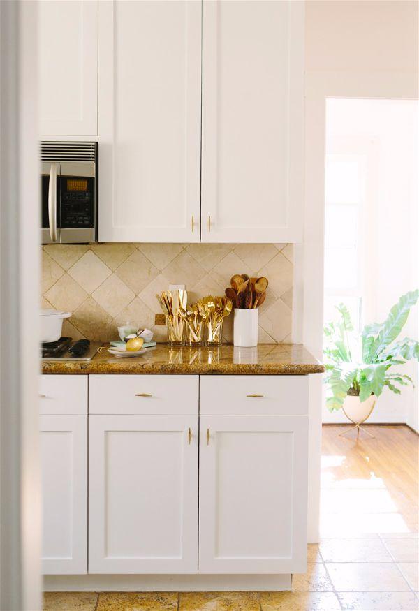 Лучшие идеи- как обновить кухню своими руками золото на кухне