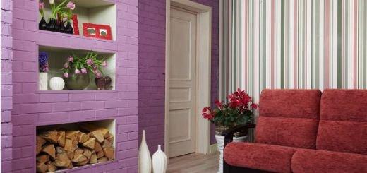 Межкомнатные двери белого цвета в маленьком помещении-