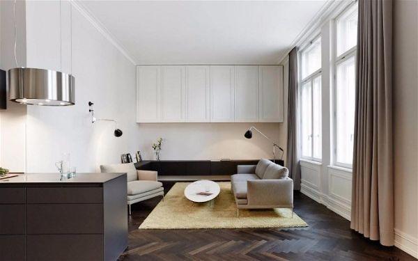 Современная мебель для гостиной для маленьких квартир