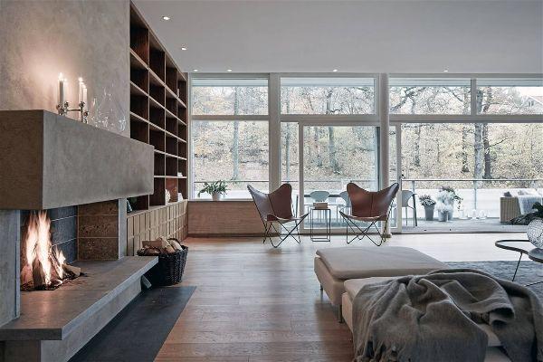 Современная мебель для гостиной системы хранения
