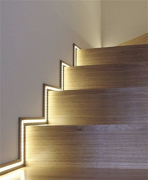 Внешняя подсветка LED лентами