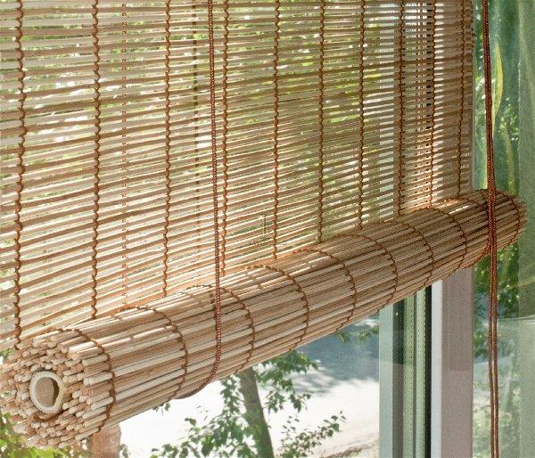 бамбуковые рулонные шторы плюсы и минусы