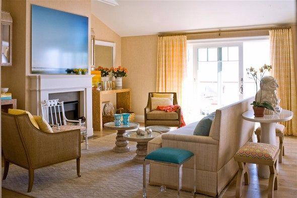 Американская гостиная - особенности стиля