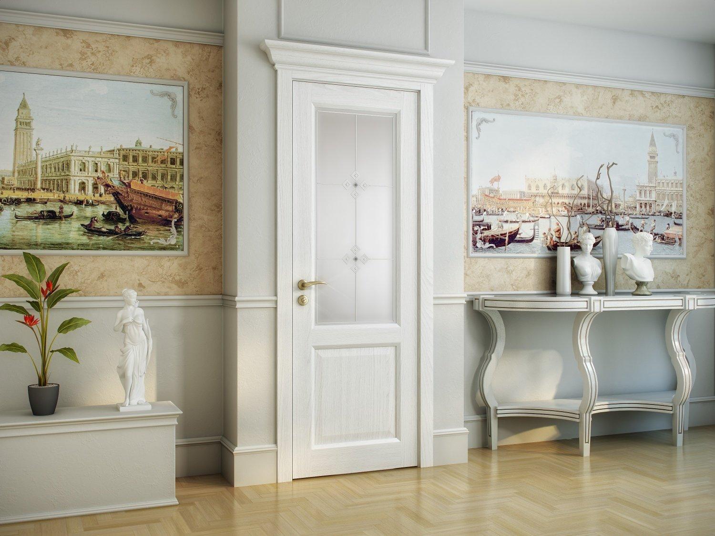 Двери Porta Prima для ванных комнат и санузлов со стеклом