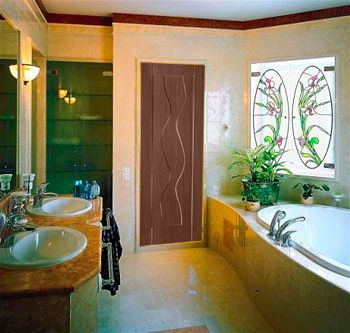 Какие двери в ванную подойдут для Вашей квартиры - глухие двери