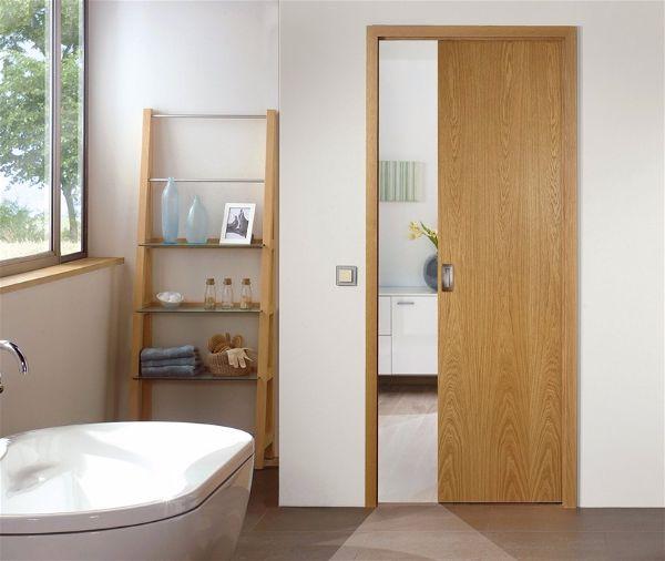 Какие двери в ванную подойдут для Вашей квартиры - шпонированные двери