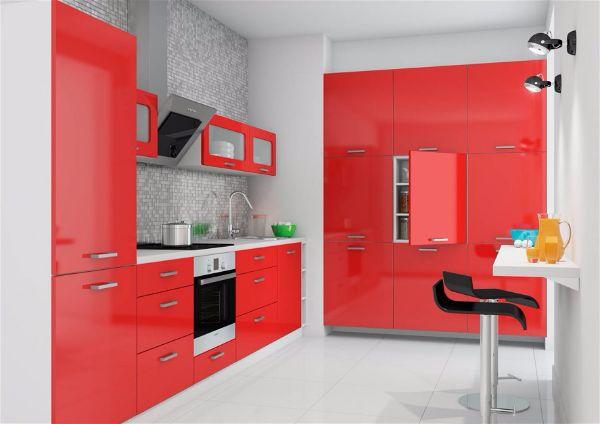 Какой цвет выбрать для кухни Очень яркий смелый цвет