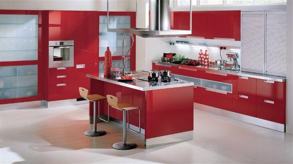 Какой цвет выбрать для кухни для смелых людей