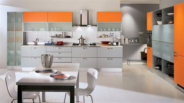 Какой цвет выбрать для кухни добавляем яркие элементы
