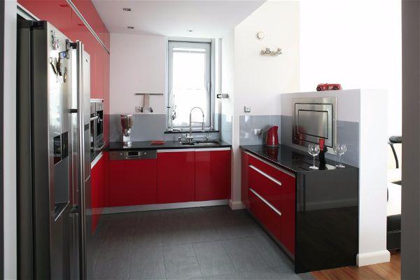 Какой цвет выбрать для кухни темный малиновый