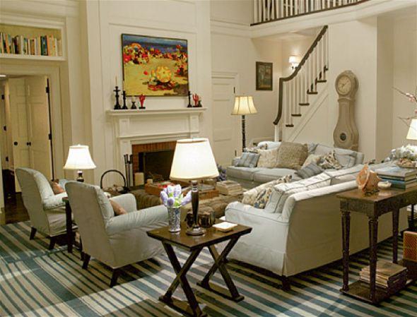 Оформляем гостиную в американском стиле